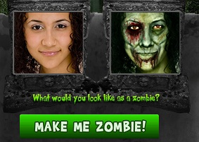 make me zombie halloween