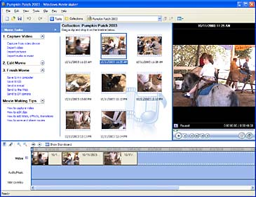 Hacer videos en Windows Movie Maker